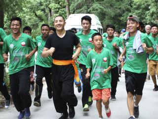 27. June 2015 - Gang Gyok Run with Tulku Lobsang Rinpoche