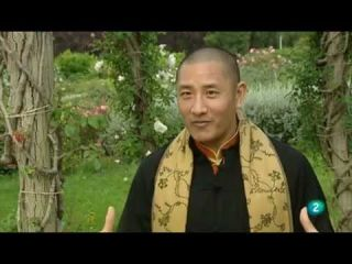 Tulku Lobsang on Spanish TV