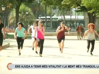 Gang Gyok in BTV (Barcelona TV - Spain)