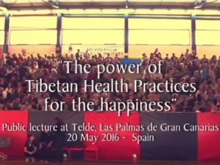 """The Power of Tibetan Health Practices for Happiness"" in Gran Canaria"