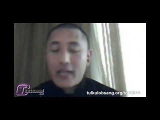 Tulku Lobsang on Toronto Program Liquid Lunch